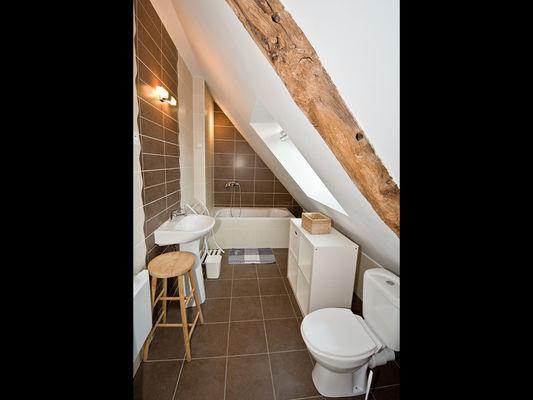 Gîte de la Combe salle d'eau - St Abraham - Morbihan - Bretagne