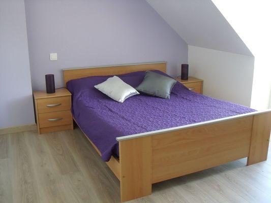 Gîtes de l'Oust T3 chambre double - Saint-Marcel