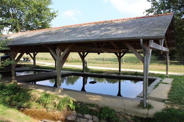 Lavoir du Blavon Bédée Village Etape