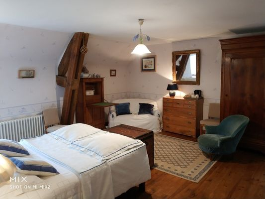 Chambres d'hôtes-Logis de la Ville Ruaud-Augan