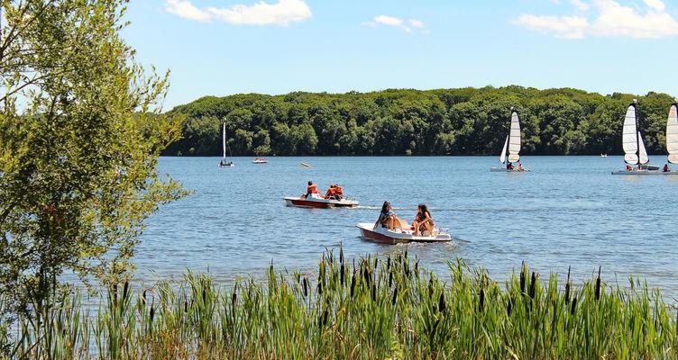Activités nautique Lac de Trémelin