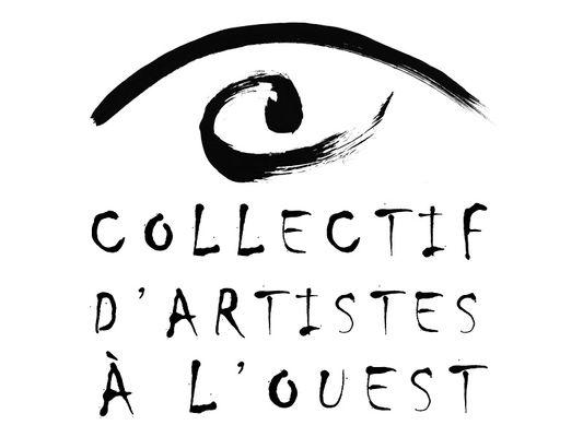 LOGO COLLECTIF D'ARTISTES À L'OUEST