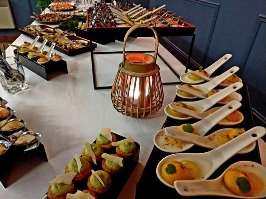 La Closerie des Hortensias_Bréal_buffet