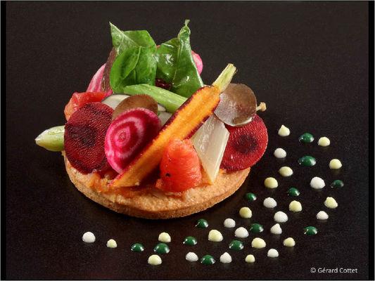 La Table de Benoit - Tarte de légumes de saison