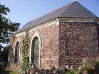 La chapelle de l'Abbaye Saint Jacques à Montfort-sur-Meu