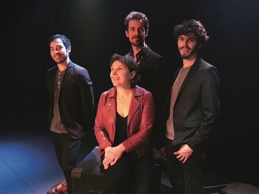 Lellig - Annie Ebrel Quartet - concert - Ploërmel - Morbihan