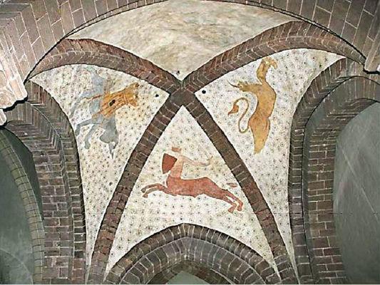 Malestroit église St-Gilles peintures