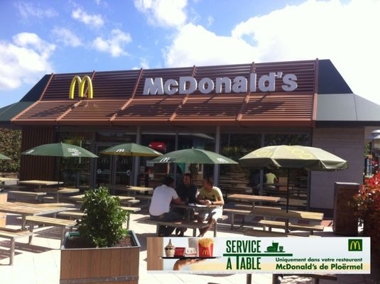 Restaurant Mc Do - Ploërmel - Brocéliande - Bretagne
