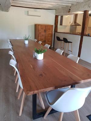 Salle à manger_Gîte La Brousse de Coganne_Paimpont