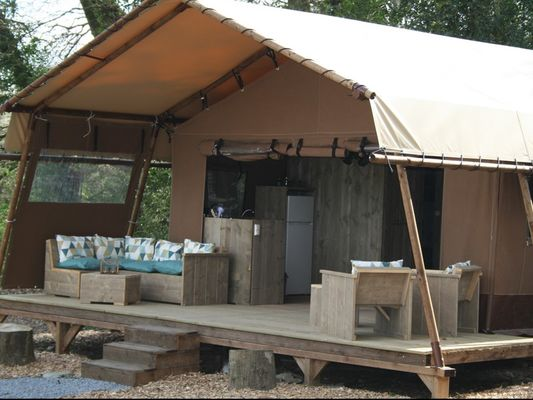 Tente désert lodge - Hébergement insolite - Domaine du Roc - Le Roc Saint-André