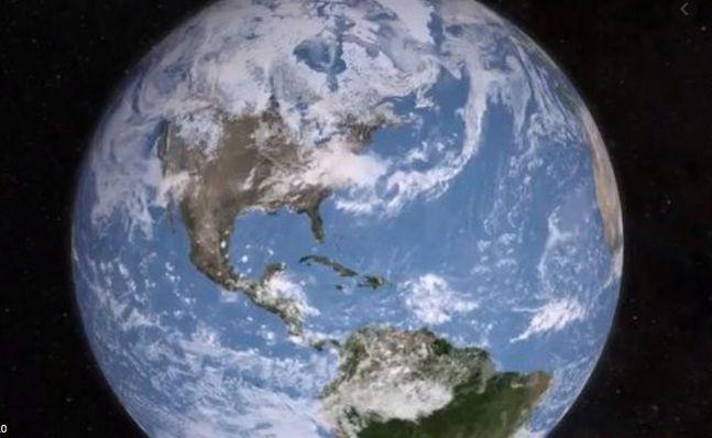 Vue du ciel NASA