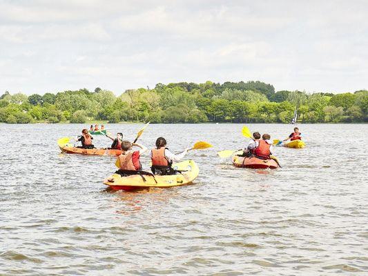 canoë - kayak - club nautique - lac au duc - Taupont - Bretagne