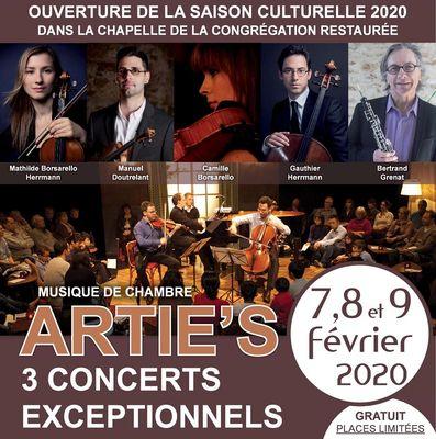 concert musique de chambre - Artie's - Josselin
