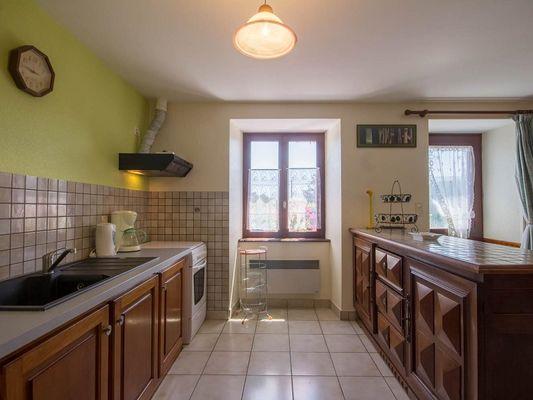 Gîte Brocéliande - cuisine - Campénéac - Morbihan