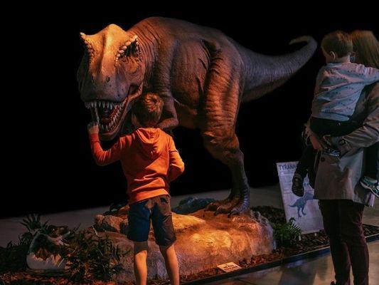 exposition - dinosaure - préhistoire - Ploërmel - Morbihan