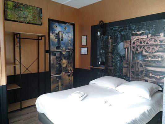 hôtel - le ludixarium - chambre thématique - Ploërmel - Morbihan