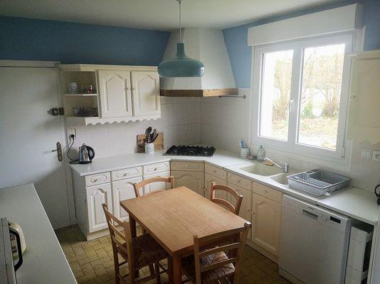Le Cottage des Champs - cuisine- Saint-Brieuc-de-Mauron - Bretagne