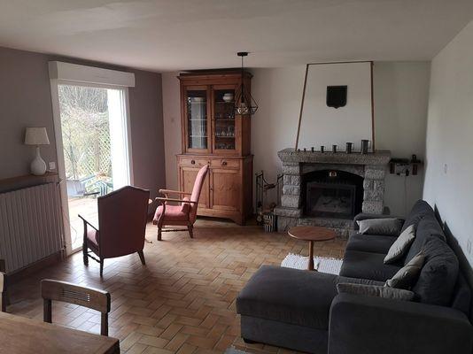 Le Cottage des Champs - salon - Saint-Brieuc-de-Mauron - Bretagne