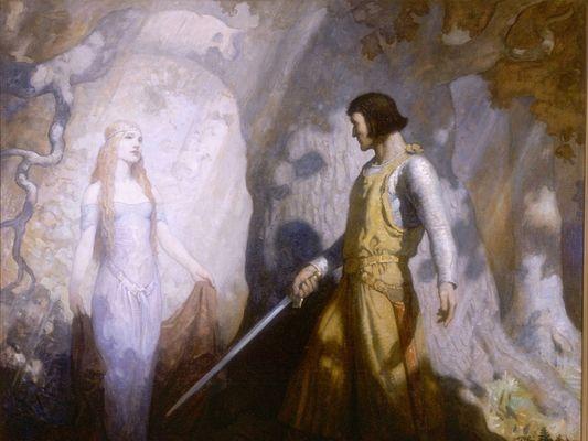 balade contée Lancelot Comper