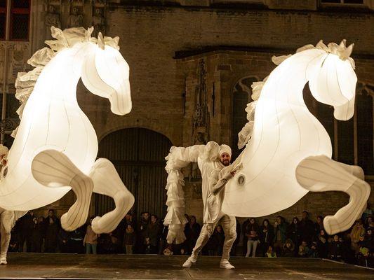 Fiers à Cheval - La Compagnie des Quidams - Brocéliande Fantastic - Ploërmel