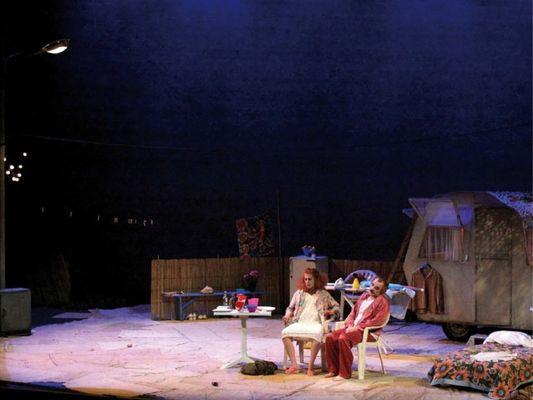 une-laborieuse-entreprise - théâtre du miroir - Josselin