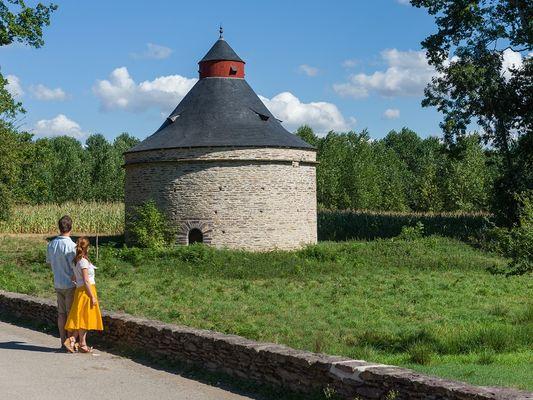 Chateau de Trécesson - pigeonnier - Campénéac - Brocéliande - Bretagne