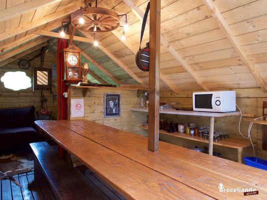 Camp western 2 Camping d'Aleth St-Malo de Beignon Brocéliande