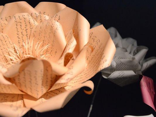 exposition du papier à l'oeuvre - Amandine Serran - Chapelle Bleue - Ploërmel