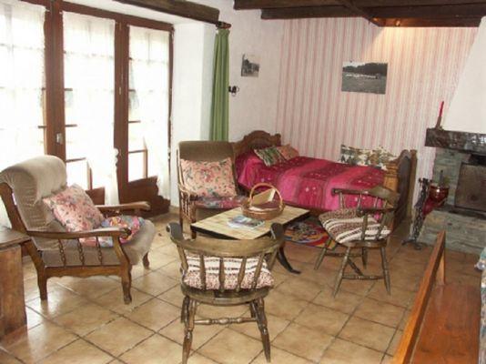 Gîte Raflegeau salon - Missiriac - Morbihan - Bretagne