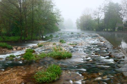 La confluence du meu et du garun à Montfort-sur-Meu