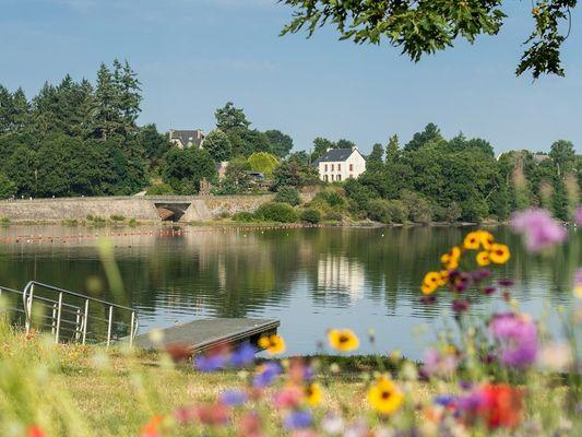 lac au Duc - été - Ploërmel - Morbihan