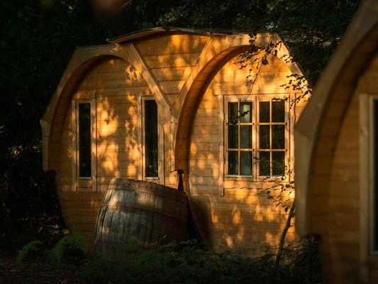 Baricane- Hébergement insolite - Camping Domaine du Roc - Brocéliande