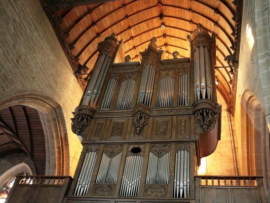 Orgues - Basilique Notre-Dame du Roncier - Josselin - Morbihan - Bretagne