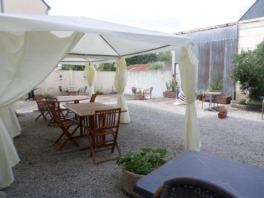 hôtel - le ludixarium - espace extérieur - Ploërmel - Morbihan
