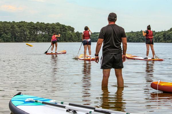 Paddle Lac de Trémelin