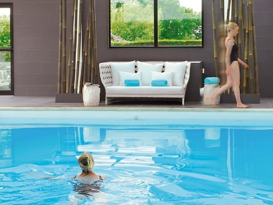 Piscine - spa - hôtel Roi Arthur - Ploërmel - Brocéliande - Bretagne