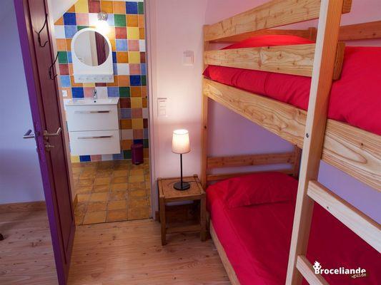 Auberge-du-Champ-Commun-Suite familiale Augan Destination Brocéliande