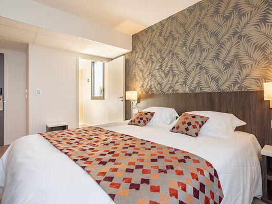 brit hotel L'Hippodrome - chambre confort - Ploërmel - Morbihan