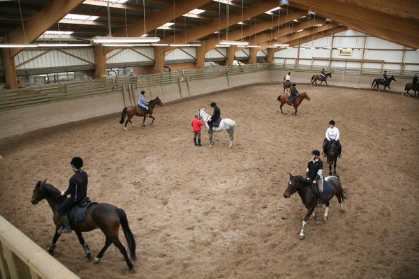 centre équestre - lycée la touche - Ploërmel - Brocéliande - Bretagne