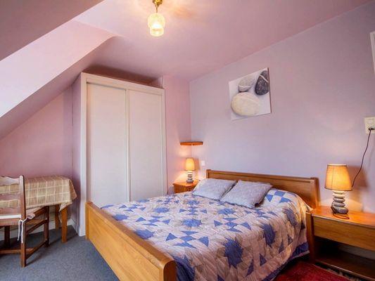 Gîte Brocéliande - chambre 1 - Campénéac - Morbihan