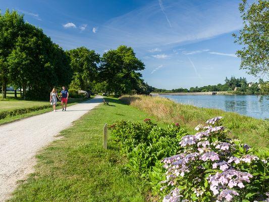 circuit hortensias - promeneurs - Ploërmel communauté - Brocéliande - Bretagne