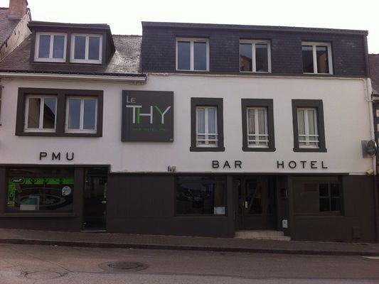 Hôtel Le Thy - façade - Ploërmel - Morbihan