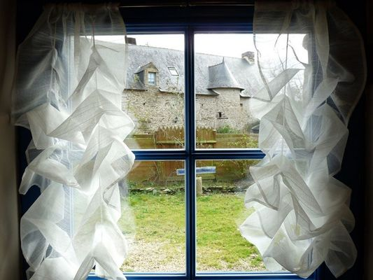 Manoir-Barbotin-Ploërmel-fenêtre - Brocéliande-Morbihan-Bretagne