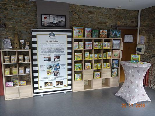 hôtel - le ludixarium - jeux - Ploërmel - Morbihan