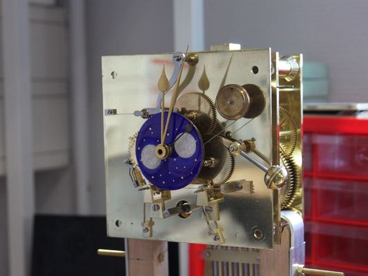 Mécanisme d'horlogerie - atelier d'horlogerie - Yannick Robert - Ploërmel
