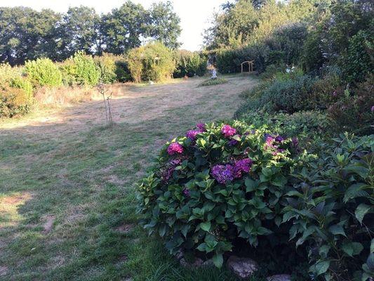Le Cottage des Champs - jardin - Saint-Brieuc-de-Mauron - Bretagne