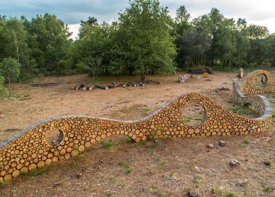 Sentier Land'Art Monteneuf Destination Brocéliande