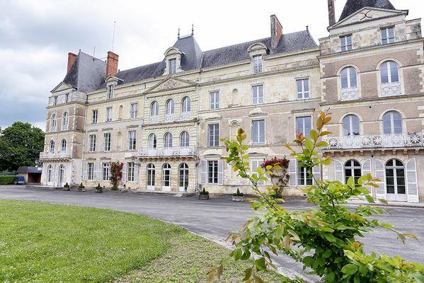 Château de Briançon à Bauné
