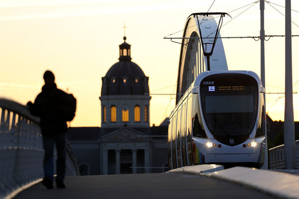 Le tramway d'Angers