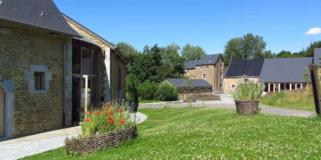 Hébergement pour groupe - Moulin de Hosdent - Meublés et Gîtes - Latinne    Maison du Tourisme Terres-de-Meuse